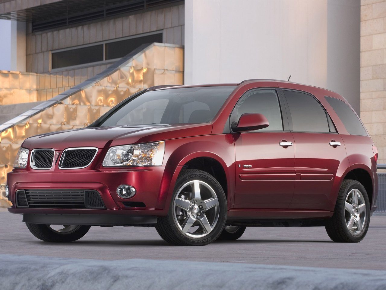 Автомобиль Pontiac Torrent