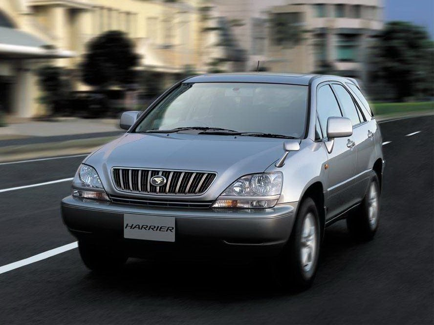 Автомобиль Toyota Harrier