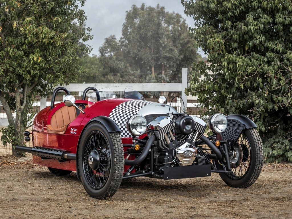 Автомобиль Morgan 3 Wheeler