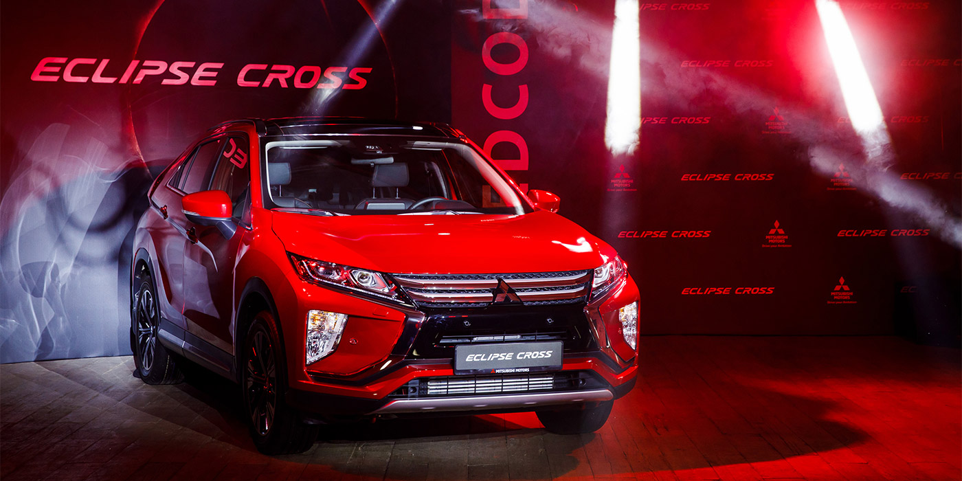 Mitsubishi представила Eclipse Cross для России