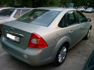 Ford Focus, Седан 2008